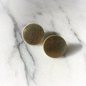 Coin earstuds