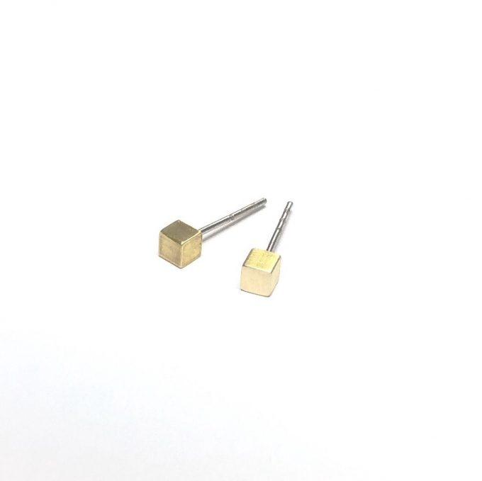 Mini Studs messing square