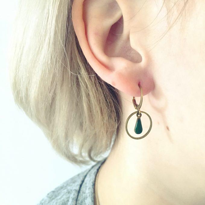 circle & drop green
