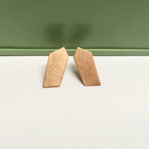 Copper geometric Studs²