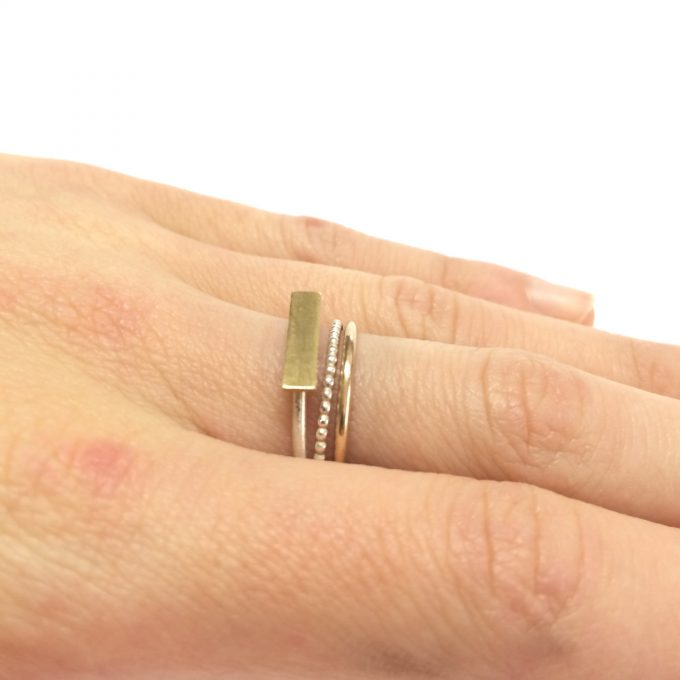 mini rectangle ring