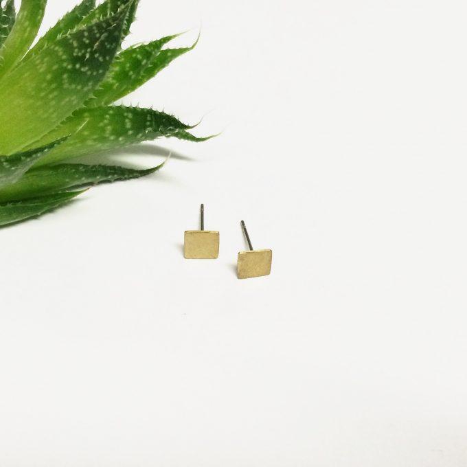 mini square studs